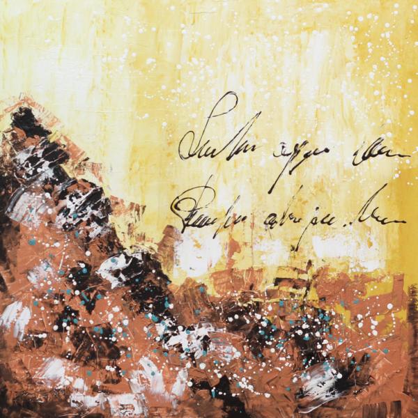 abstracto-papiro-de-montana-70×70